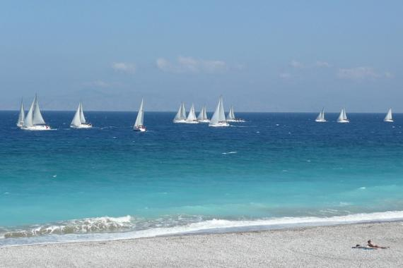 'Global MBA Trophy Yacht Race, off Ixia Beach - Rhodes, 30 April 2011' - Rodi